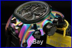 NEW Invicta Reserve 52mm Bolt Zeus MAGNUM SWISS RONDA Dual Movement Strap Watch