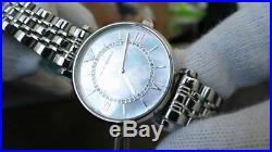 New Genuine Emporio Armani Women's Ar1908 Gianni Stainless Steel Bracelet Watch