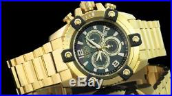 New Mens Invicta 15827 63mm Grand Octane Swiss Made Chronograph Bracelet Watch