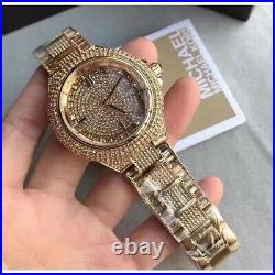 New Michael Kors Ladies Watch Mk5720 Gold Camille Bnib 2y Warranty New Original