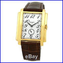 PATEK PHILIPPE Man's 18K Yellow Gold Gondolo # 5024 Box Warranty 5024-J MINTY
