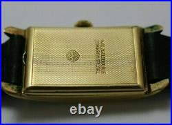 Project 30's Art Deco Laco with Excellent Condition Case & Dial, Not Working