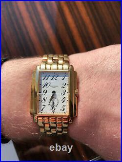 Rare Genuine Patek Philippe Geneve Gondolo 5024/1J 18K Yellow Gold Bracelet
