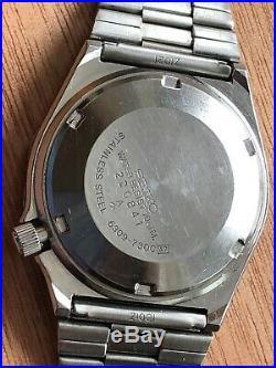 Seiko Automatic Resist Dial 6309 730C SEIKO ORIGINAL Z BRACELET VINTAGE