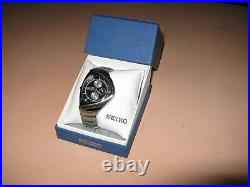 Seiko Self Quartz Battery Stainless Steel Watch, Never Used, Jewelry Fashion