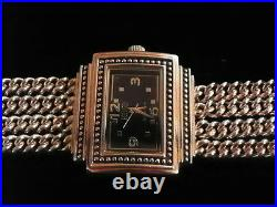 Sterling Silver 4 Strand Art Deco Watch By Ecclissi #33612 (inv. # 4666)