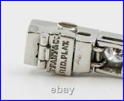 TIFFANY & CO. Art Deco Diamond Platinum Tennis Bracelet