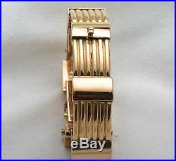 Vintage 1920's 18k rose gold Watch bracelet RUBY Diamond 1920's Art Deco WOW