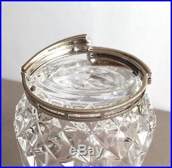 Vintage Ciner Art Deco Style Faux Sapphire Diamond Bracelet
