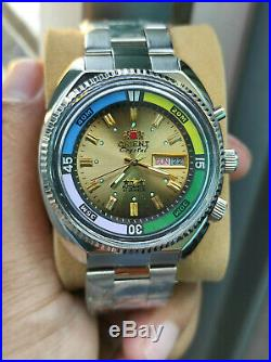 Vintage watch Orient Crsytal automatic Orient SK Sea King Orient King Diver NOS