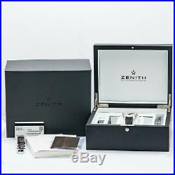 Zenith Chronomaster El Primero Chronograph Stainless Steel (03.2040.400/69. C494)